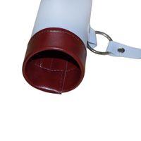 arrow quiver leather - Adjustable Shoulder Arrow Quiver Leather Tube Hip Arrow Holder White