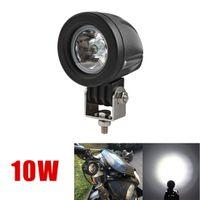 780lm Bulb CLT_421 2 Inch 12V 24V 800LM 10W Waterproof LED Work Light Driving Fog Lamp for Car   Motorcycle   Boat   ATV CLT_421