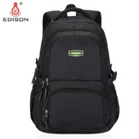 Wholesale Edison Large Capacity Casual Security Fashion Shoulder bookbag Backpack for Boys and Girls