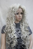 ash blonde pictures - 100 Brand New High Quality Fashion Picture full lace wigs gt gt fashion sexy ash blonde quot long messy curls woman s full thick wig