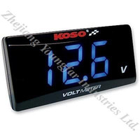 Wholesale KOSO Voltmeter Voltage Meter Levelometer LED display for Scooter GY6 GP110 BWS125 RS100 and many more