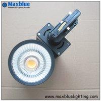 Wholesale W Epistar COB LED Track light ideal for store shop lighting