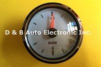 Wholesale 1pc KUS Clock Table Clock Gauges V V For Boat Automobile Motor Homes Universal White Color