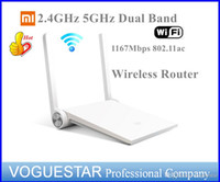 Wholesale wireless router Original Xiaomi Mi Ghz GHz Dual band ac Edition for PC IOS Android NWP0031
