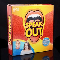 Wholesale 2016 New Speak Out Board Game Mouthguard Challenge Game