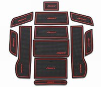 accord car mats - Car Door Groove Gate Slot Cup Armrest Storage Pad Anti Slip Mats Suitable For Honda Accord Retail Set