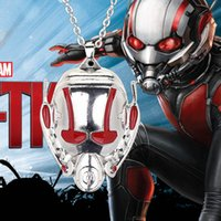 ants movies - 2016 Marvel Superhero Pendant Movie Vintage Bronze and old Tin Ant Man Necklace For Women And Men ZJ