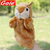 baby loves shopping - The little squirrel hand puppets robbery nuts shop The new plush toy baby love family interaction Quality assurance