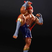 Wholesale LOL League of Legends PVC action figure Muay Thai LeeSin Q Model Toy Gift
