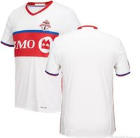 athletics uniforms - Benwon Toronto FC football Jersey Toronto away white Soccer Jerseys top thai quality Football Shirt men athletic Soccer Uniforms MSL