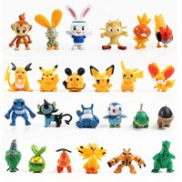 Wholesale 3 cm Japanese animal cartoon figures set New poke mon charizard figurine figuras doll for kids set