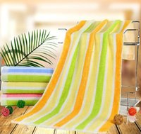 bath towels striped - 35 cm Mediterranean style navy blue and white stripe towel cotton Blue and white striped cotton beach towels green striped towel