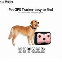 Wholesale GPS LBS Smart Tracker Collars Rastreador for Pets Dogs Animal with Safe Anti Lost Remote Monitor Localizador