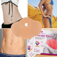 Wholesale 24 MYMI Wonder Belly Arm Leg Lose Body Exercise Patch Slim Slimming Weight Loss Patches Burn Fat Ultimate Applicator Body Wraps