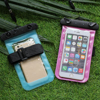 Wholesale Suspension arm belt dual purpose mobile phone waterproof bag armband mobile phone waterproof pocket waterproof bag