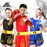Wholesale Good quality Sanda jerseys sets mma shorts boxing professional competition clothing