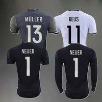 Wholesale SCHWEINSTEIGE Germanying JERSEYS AWAY HOME shirt adult euro goalkeeper MULLER OZIL GOTZE neuer