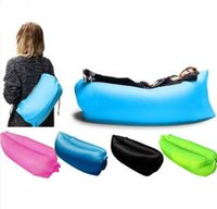 Wholesale 2016 Laybag Inflatable Sofa Air Bed Sofa Hangout Festival Camping Holiday Air Bed