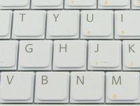Nouveau clavier d'ordinateur portable pour la version Sony Vaio VGN-NR VGN-NS VGN NR NS Series Blanc US - V-072078AS1-US