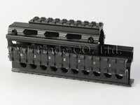 ak handguard rail - Yugo M70 AK Quad Rail Drop in Handguard For Laser Dot Sights Riflescope Mount V cut for Co witness with Iron Sights MNT HG470A