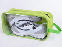 Wholesale Shoe Storage Bag Pretty Travel Pouch Protect Shoebox See Through Waterproof Luggage Organizer Portable