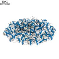 Wholesale Horizontal Type Each kinds Blue White Adjustable Resistor Bag