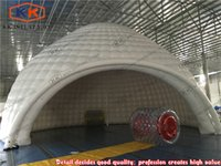 automatic commercial doors - commercial sealed air inflatable dome airtight tents large size inflatable igloo for event