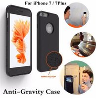 anti gravity car - For iPhone7 Plus Adsorbed Magnetic Car Anti Gravity Case Cover for iphone6 s Samsung S6 Edge Plus Note Note new arrived