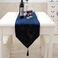 Wholesale European style Luxuries table cloth coffee Tea Table Runner Wedding Party Banquet Decoration events supplies Table Accessries