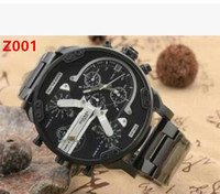 Wholesale about Men s Mr Daddy Chronograph Black Stainless Watch DZ7312 DZ7311 DZ7313 DZ7314 DZ7315 DZ7333 NEW