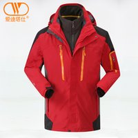Wholesale New Fashion Outdoor men s Waterproof sports coat in Windproof Climbing amp Hiking clothes Skiing jacket amp