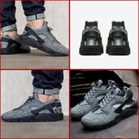 air max tech - Wmns Air Huarache Run Max Shoes Running Shoes Sneakers For Women And Men Tech Fleece Wolf Cool Grey Kids SHOES