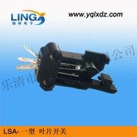 Wholesale LSA a tripod type blade switch reset switch switch a switch blade type