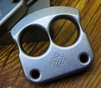 Wholesale Titanium TC4 Double Two Finger Knuckle g pc CNC Machined for Self defense