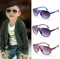 baby designer sunglasses - Fashio Kids Child Sports Sun Glasses Sunglasses Baby For Girls Boys Outdoor Designer Glasses Brand Free Ship O4048