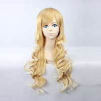 best buy wigs - Women s Long Curly Blonde White Ombre Heat Resistant Synthetic Hair Harajuku Style Wig YSW13 Shop Best Wigs to buy