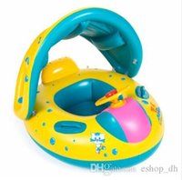 Wholesale For years Old Baby Swimming Ring Baby Kids Infant Adjustable Swimming Seat Float Ring Safety