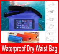 belt dryer - Waterproof Swim Waist Belt Bag Case Cover For All Cell Phone Camera Keys Money Waterproof Dry Bag Pouch with Waist Strap