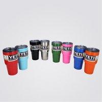 beer varieties - 2016 Hot Sale Rambler Tumbler oz YETI Cups Cars Beer Mug Large Capacity Mug Tumblerful A variety of color