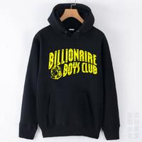 Cheap Wholesale-Street Wear Billionaire Boys Club Sweatshirt With Fleece Lining Hi-Street Winter Pullover Thick Printed Hoodies Of