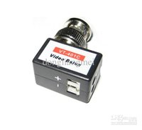 Wholesale 100pc VT C CCTV Surveillance NTSC PAL and SECAM Channel Passive UTP Video RECEIVER Balun Long Distance L