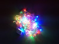 Wholesale LED fairy light string light m Leds multi colored Xmas tree home party wedding garden decor