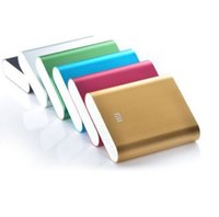Wholesale External Battery Pack xiaomi power bank mAh mi portable powerbank Charger for xiaomi all phones