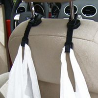 Wholesale 2pcs Auto Car Vehicle Hook Accessories Seat Bag Grocery Hanger Racks Hook Holder Organizer