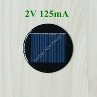Wholesale 200pcs Mini Round Solar Cell V mA Diameter mm