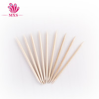nails for wood - 50pcs orange stick cm Wood Sticks Tools for Nail Art Wooden Cuticle Pusher Remover