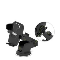 abs dashboard - hot sale cell phone accessories New long Rod automatic locked sucker dashboard abs mobile gps car mount holder