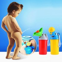 baby urinals - Cute Baby Girl Boy Portable Urinal Travel Car Toilet Kids Vehicular Potty Hot Selling