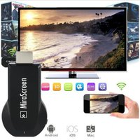 Wholesale 2016 New MiraScreen OTA iPush TV Stick Dongle Better Than EZCAST EasyCast Wi Fi Display Receiver DLNA Airplay Miracast DHL