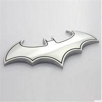 batman auto accessories - Motorcycle Car accessories D Cool Metal bat batman badge emblem tail decal accessories auto logo car styling stickers
